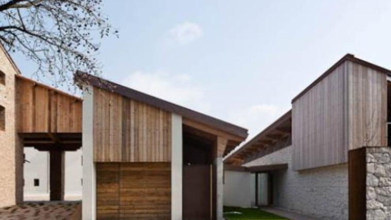 Drewno CLT w przebudowie starego domu