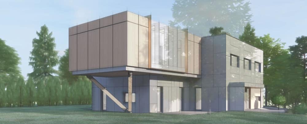Rozbudowa domku jednorodzinnego w Gdyni